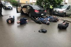 Стрельба в Броварах: полиция назвала причину разборок и задержала 10 человек. Фото