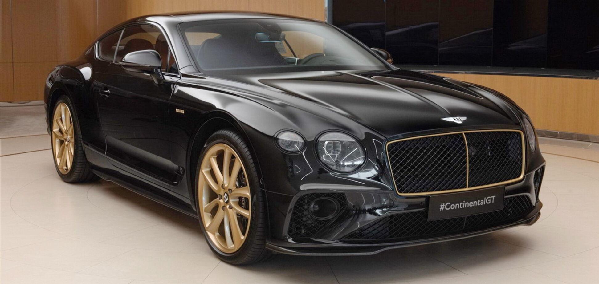 Bentley випустить 'золоте' купе Continental GT