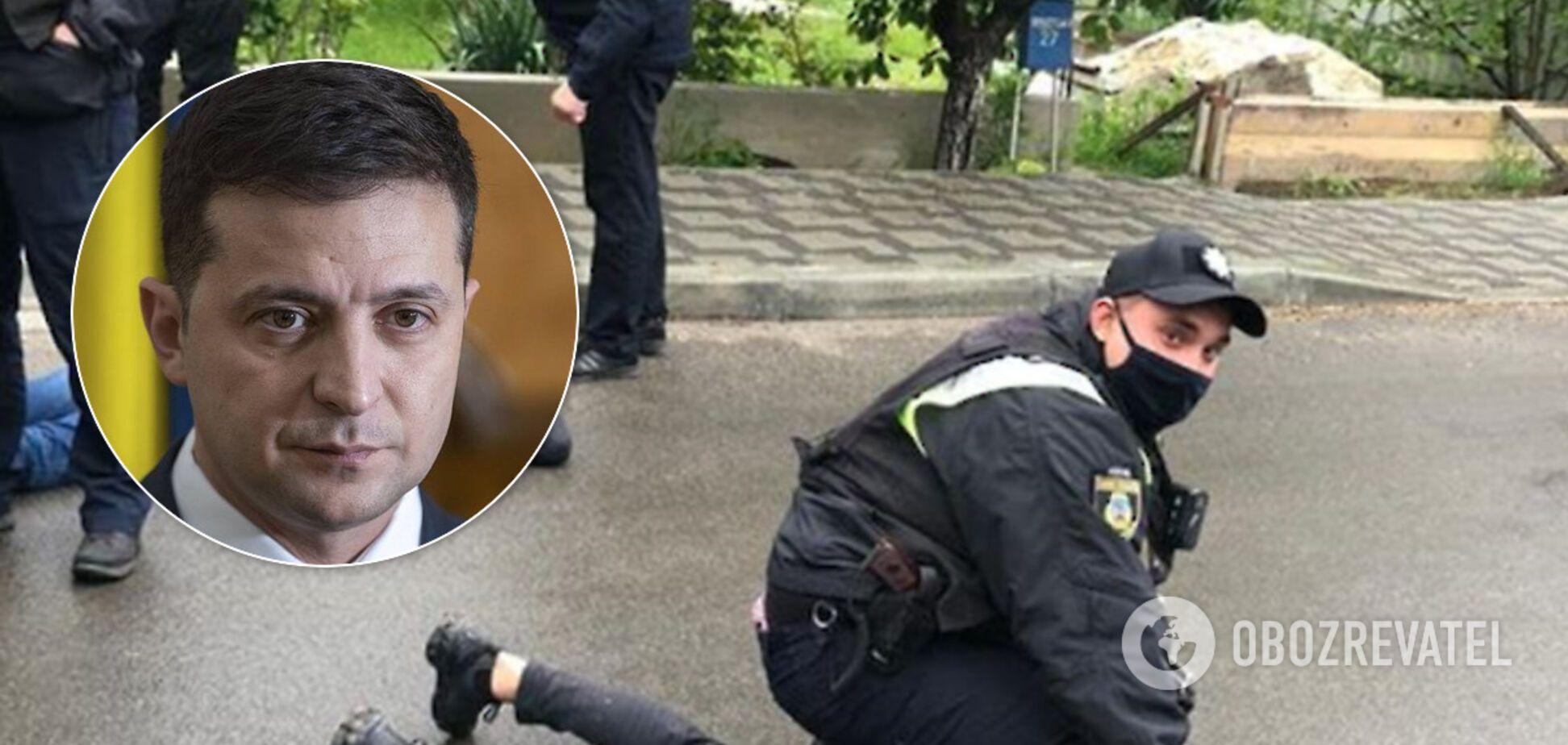 Зеленский отреагировал на стрельбу в Броварах и вызвал Авакова. Видео