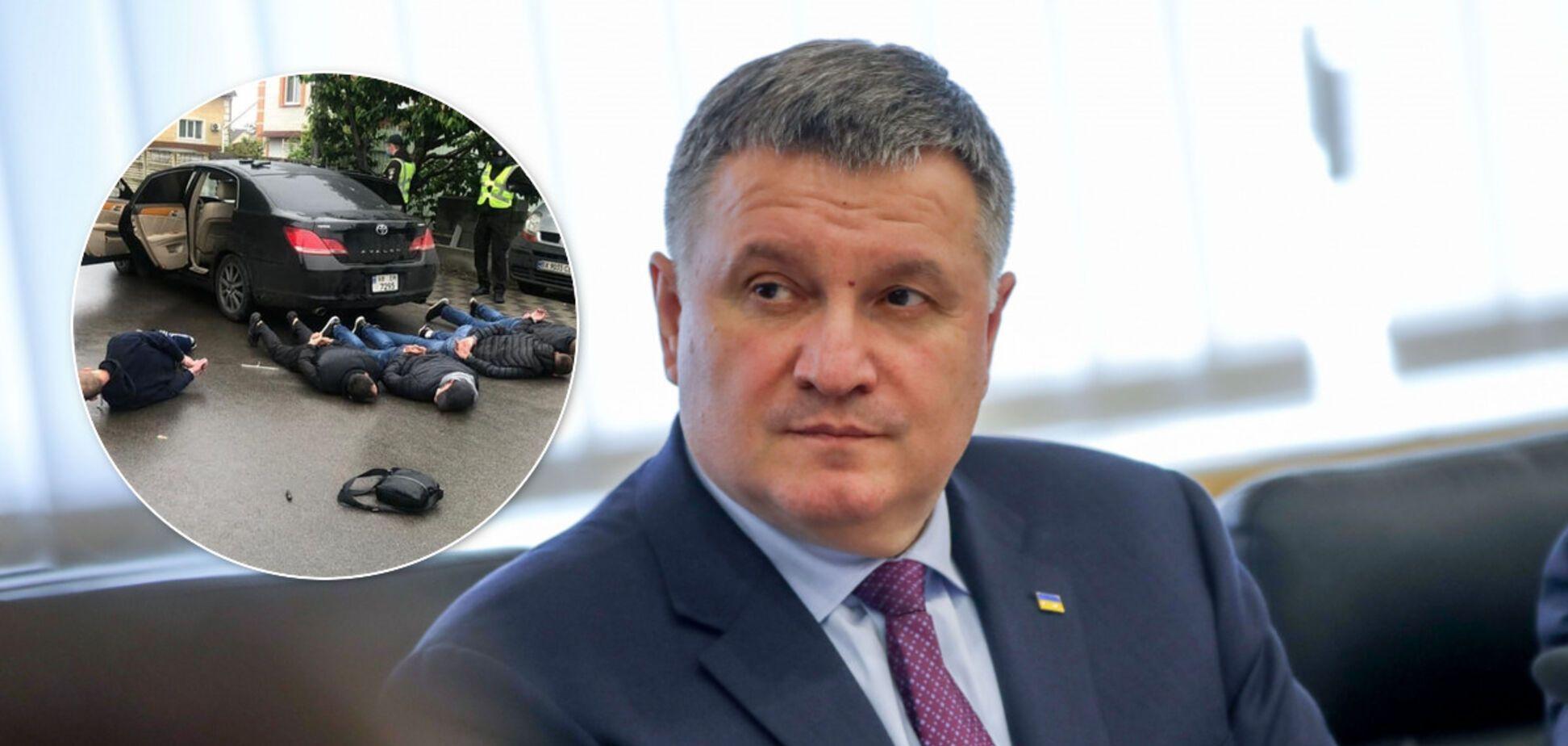 'Надовго сядуть до в'язниці': Аваков зробив заяву щодо 'розбірок у стилі 90-х' під Броварами