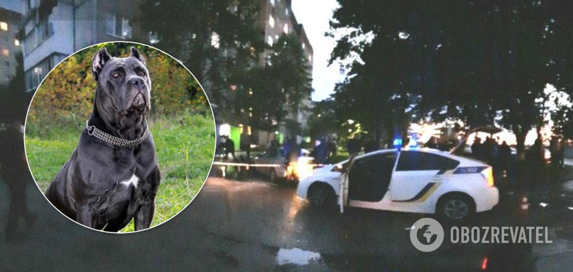 На Рівненщині поліцейські підстрелили собаку та її господаря. Фото 18+