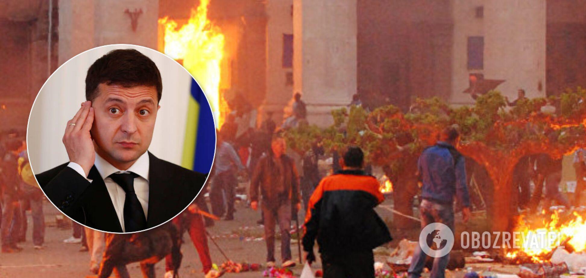 Зеленский разозлил украинцев своей реакцией на трагедию в Одессе
