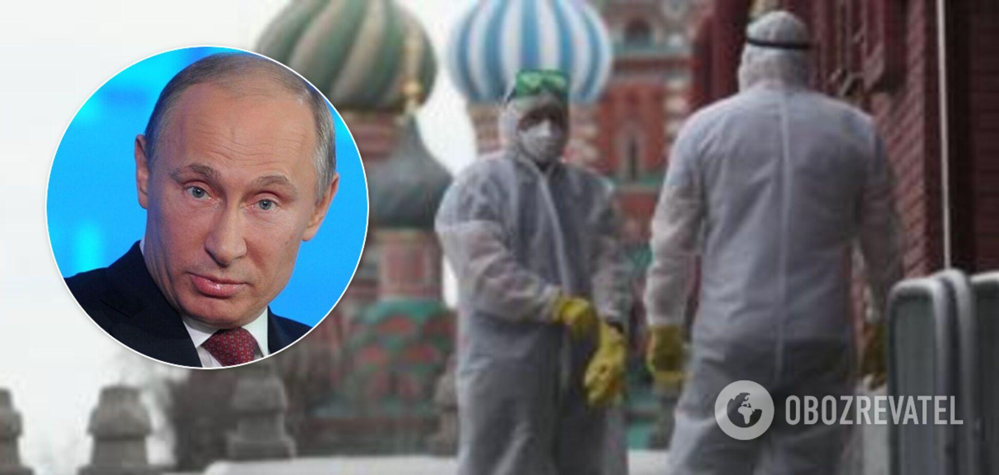 Росія стає епіцентром COVID-19 у Європі: Путін пішов на радикальний крок