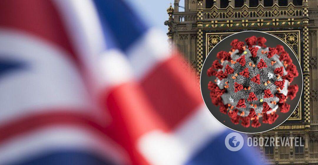 У Британії зафіксовано новий спалах коронавірусу