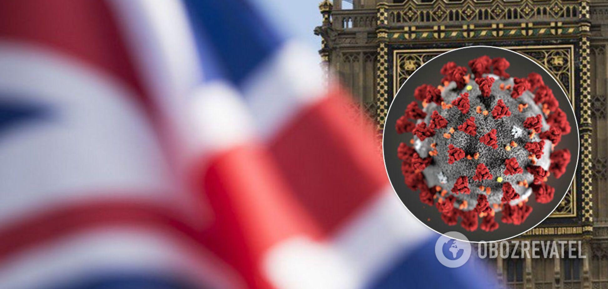 В Британии зафиксирована новая вспышка коронавируса