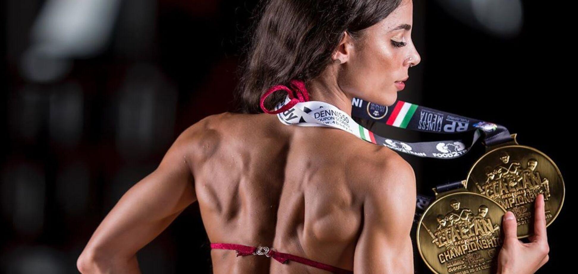 Італійська чемпіонка знялася в оголеній фотосесії