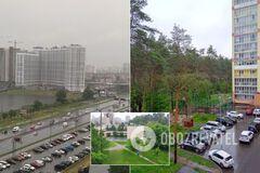 Киев ушел под воду из-за сильного ливня: машины поплыли, город тонет. Фото и видео