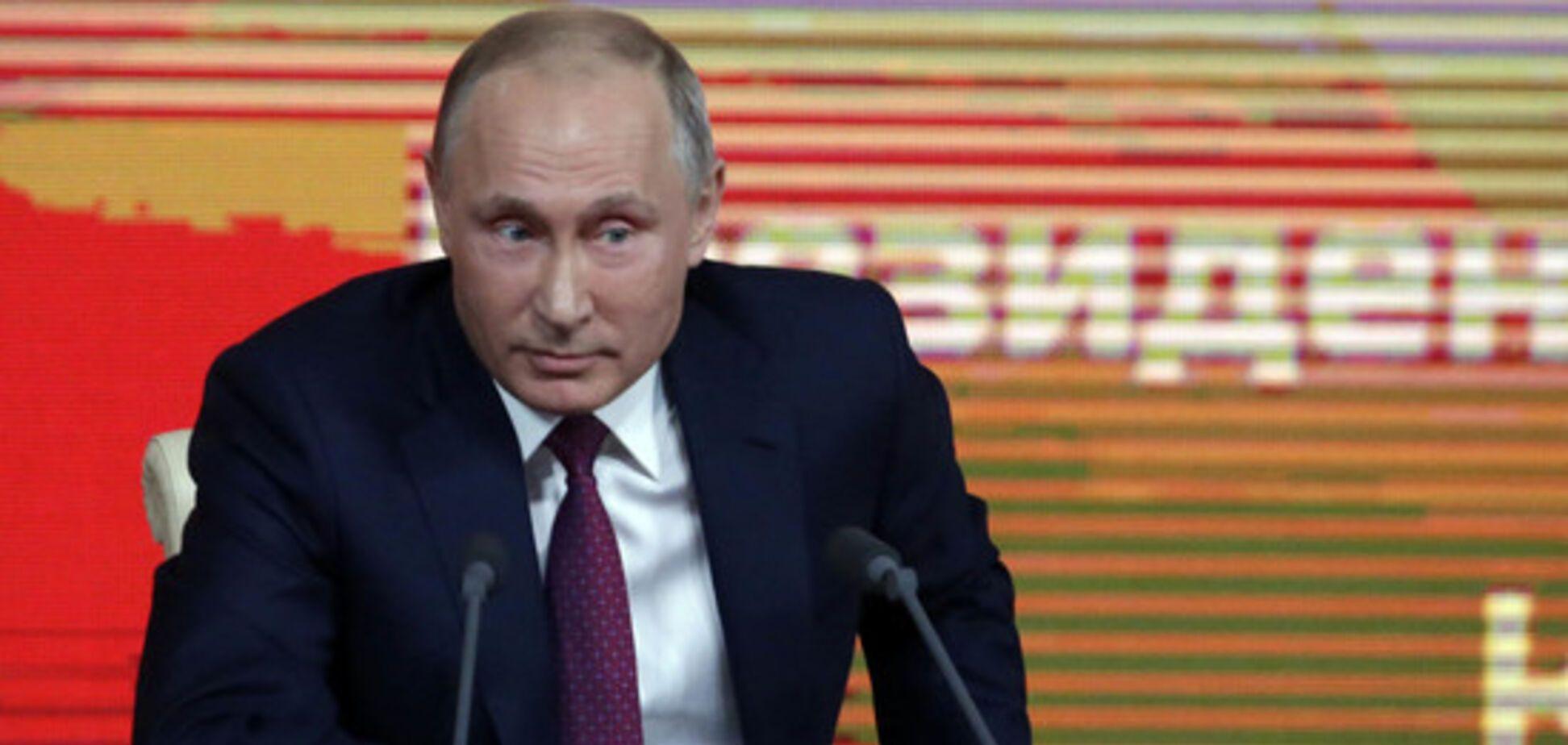 Ретинг Путіна впав. Чекаймо активізації війни на Донбасі