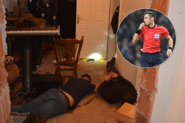Арбитра Лиги чемпионов Славко Винчича задержали на вечеринке с наркотиками, оружием и проститутками