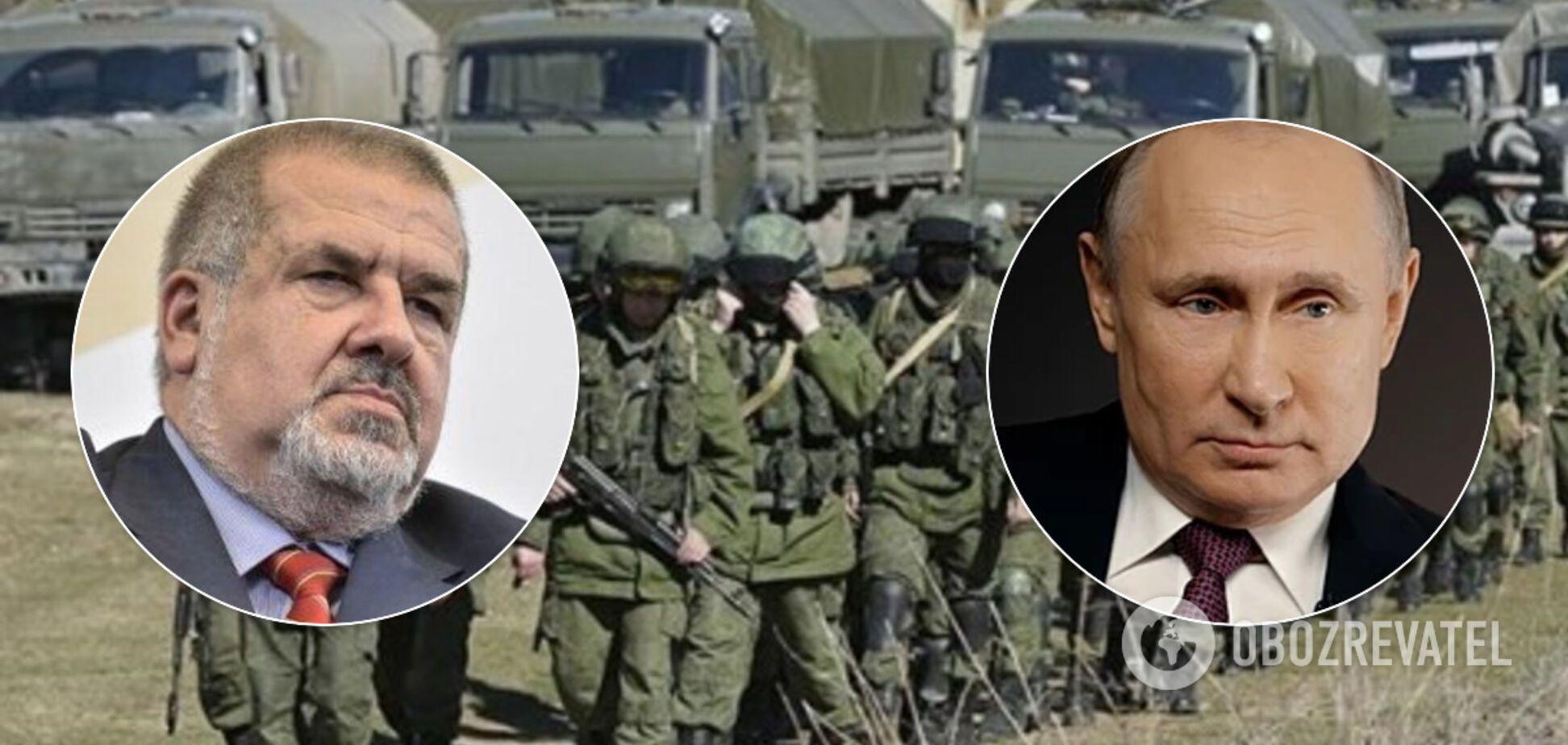 Путін знайшов виправдання для нових військових дій проти України – Чубаров