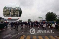 Блокування КПП 'Тиса' на Закарпатті: чиновники врегулювали протести