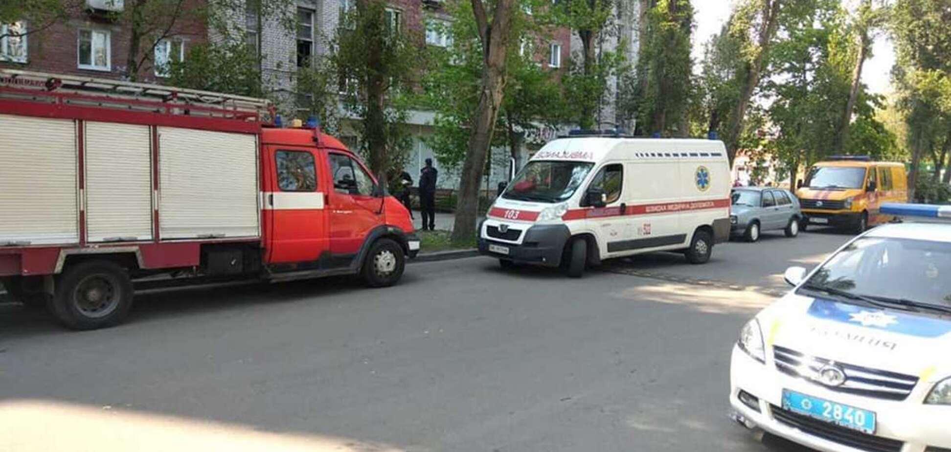 В Днепре в многоэтажке рванул газ. Фото