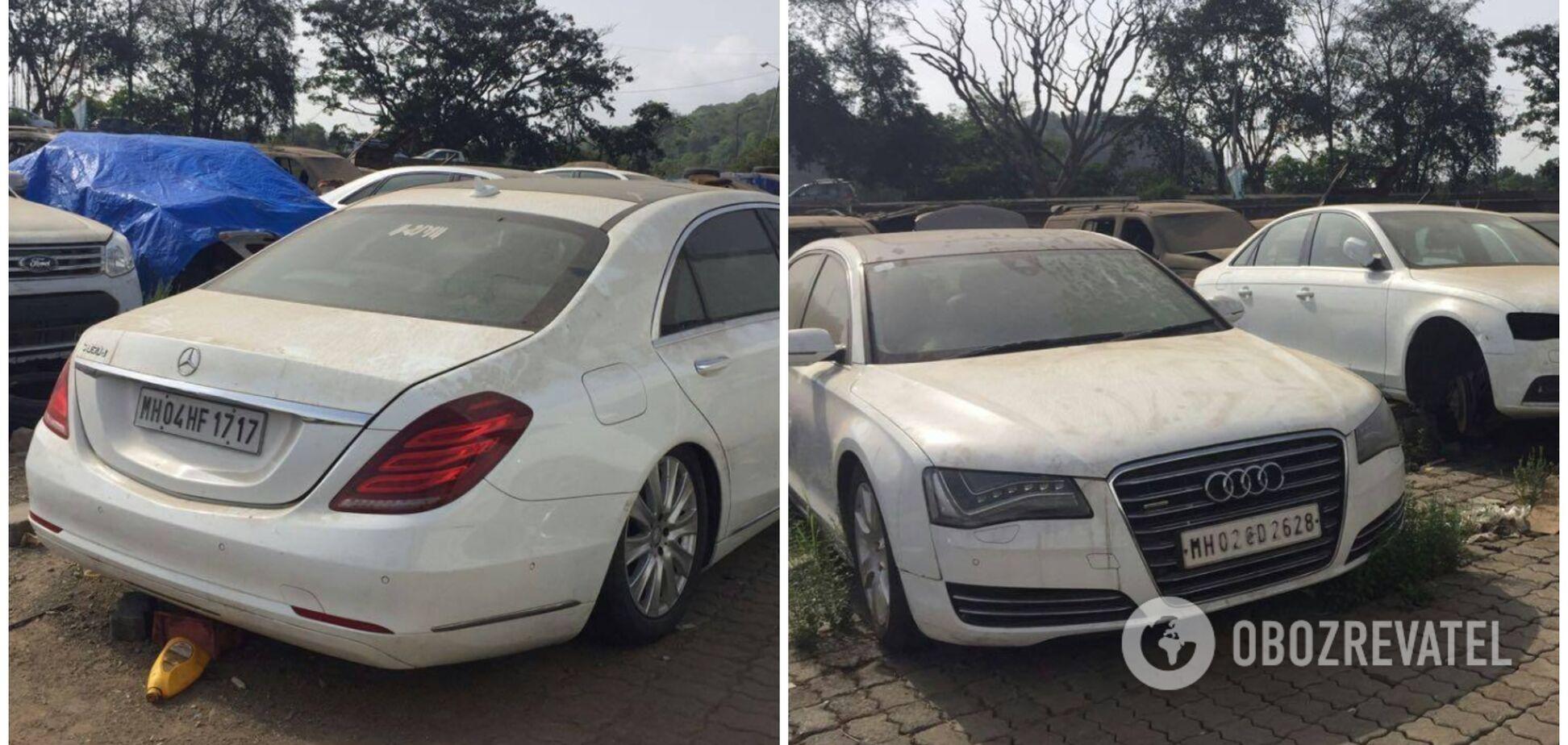 Майже нові Mercedes, BMW і Audi кинули вкриватися пилом на звалищі