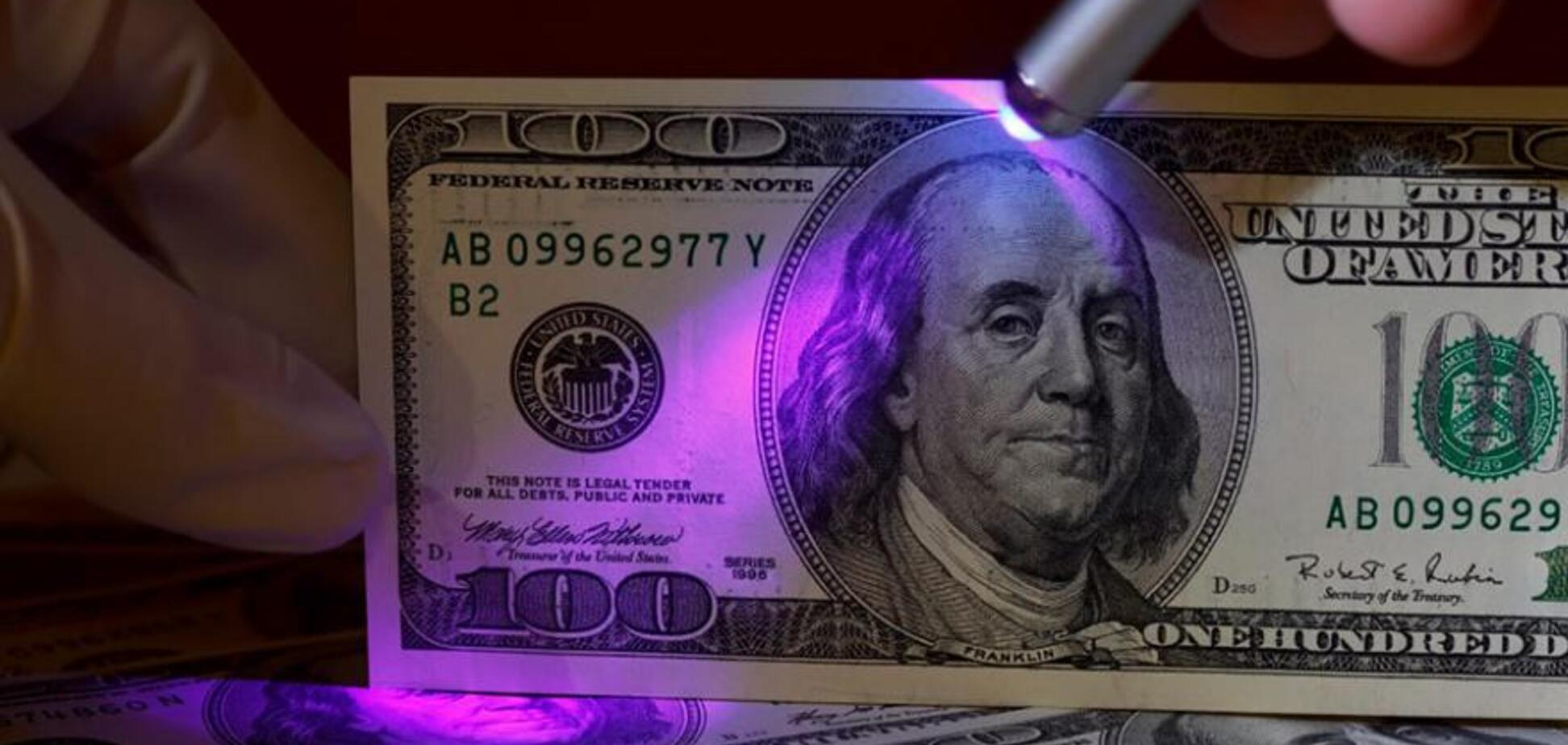 Фальшиві долари в Україні: які купюри частіше підробляють