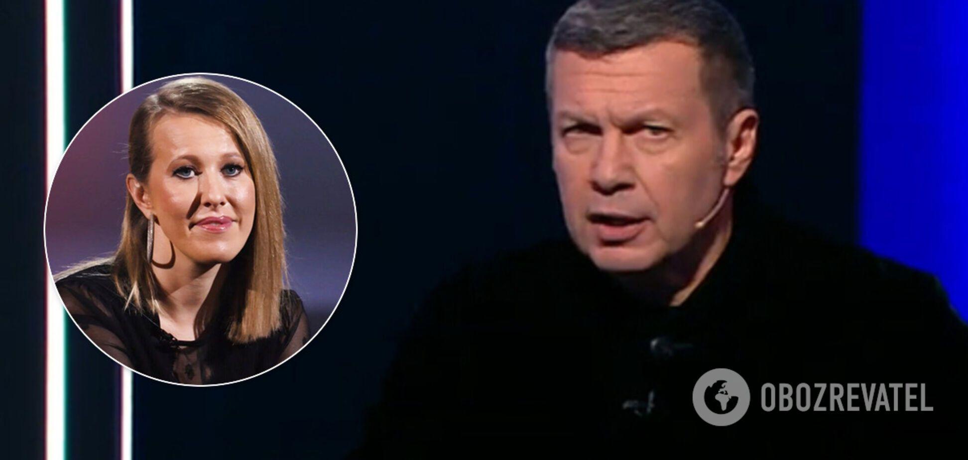 'Боюся, що її вб'ють': Соловйов зробив дивну заяву про Собчак