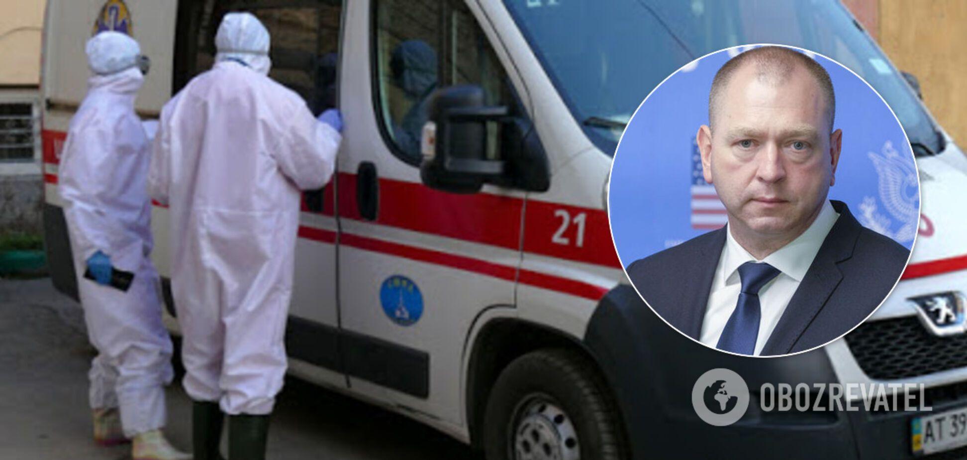 Глава Госпогранслужбы Украины госпитализирован с подозрением на коронавирус