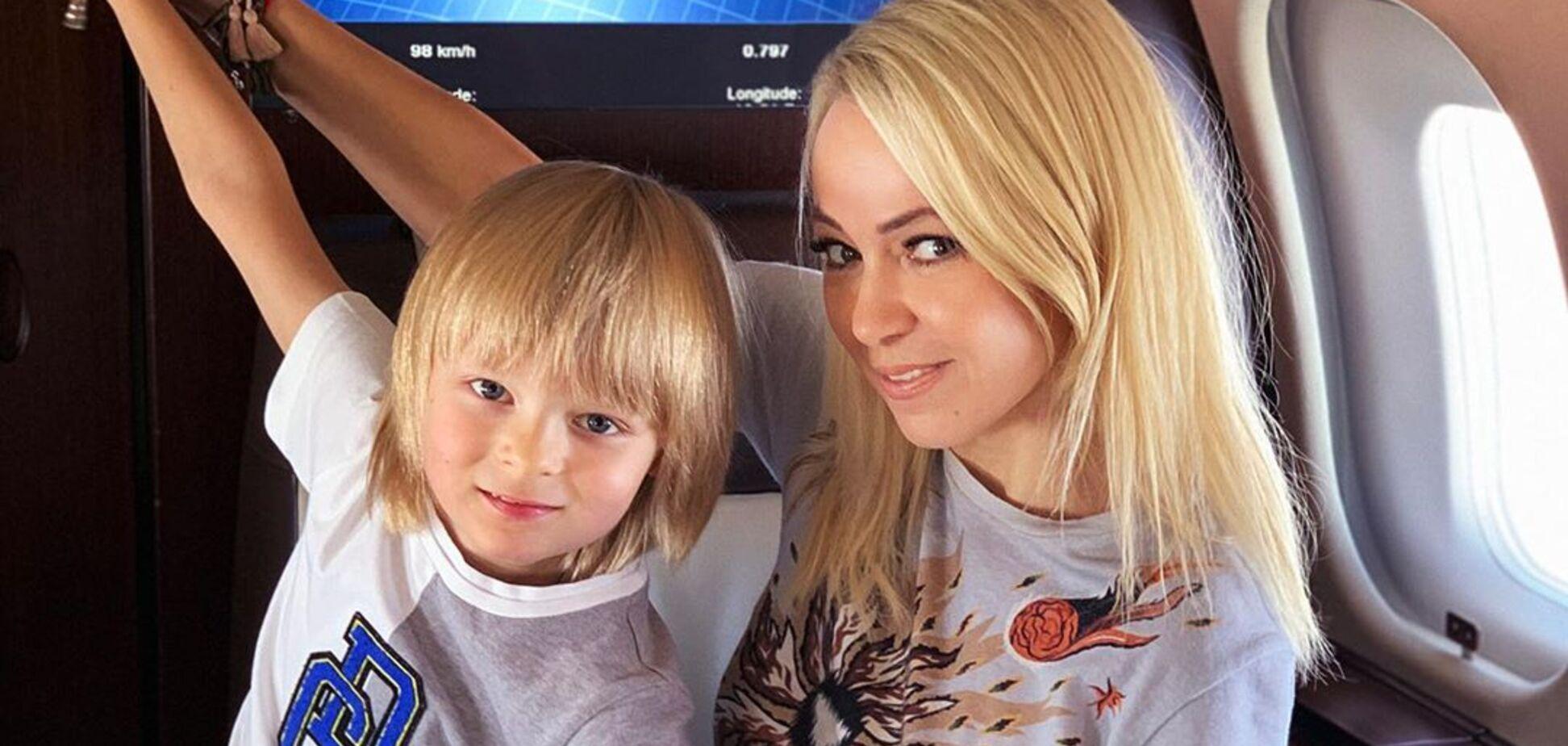 Рудковская разразилась гневом из-за слухов о болезни сына