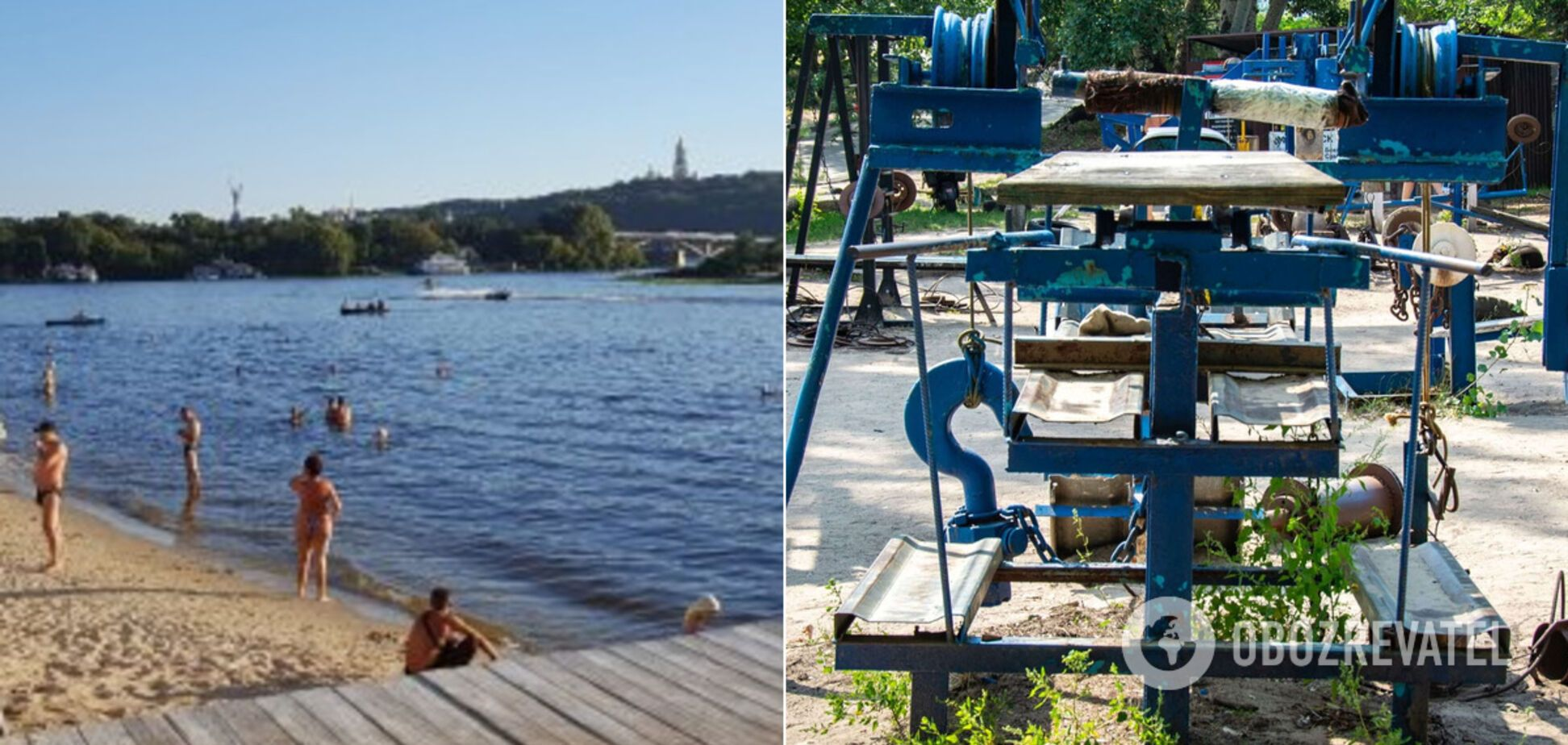 Чи відкриють пляжі та Гідропарк у Києві з 12 травня: у КМДА дали відповідь