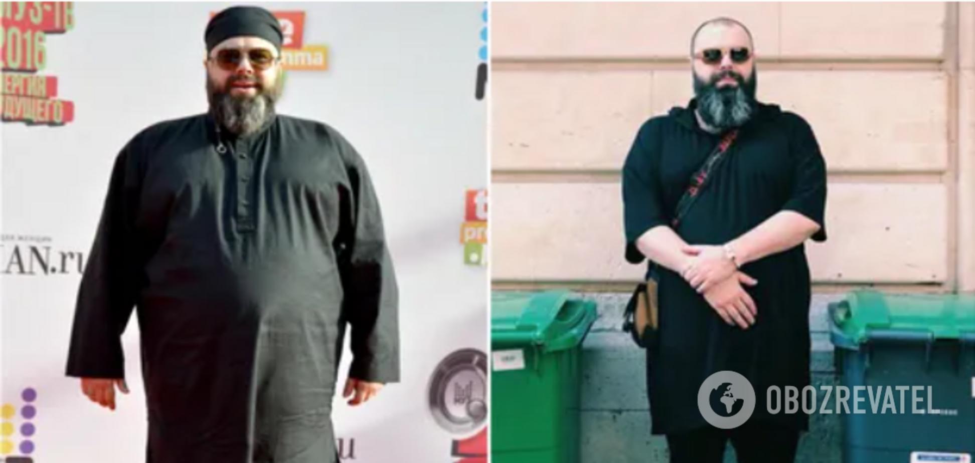 Мінус 90 кг: як виглядав Максим Фадєєв до і після схуднення
