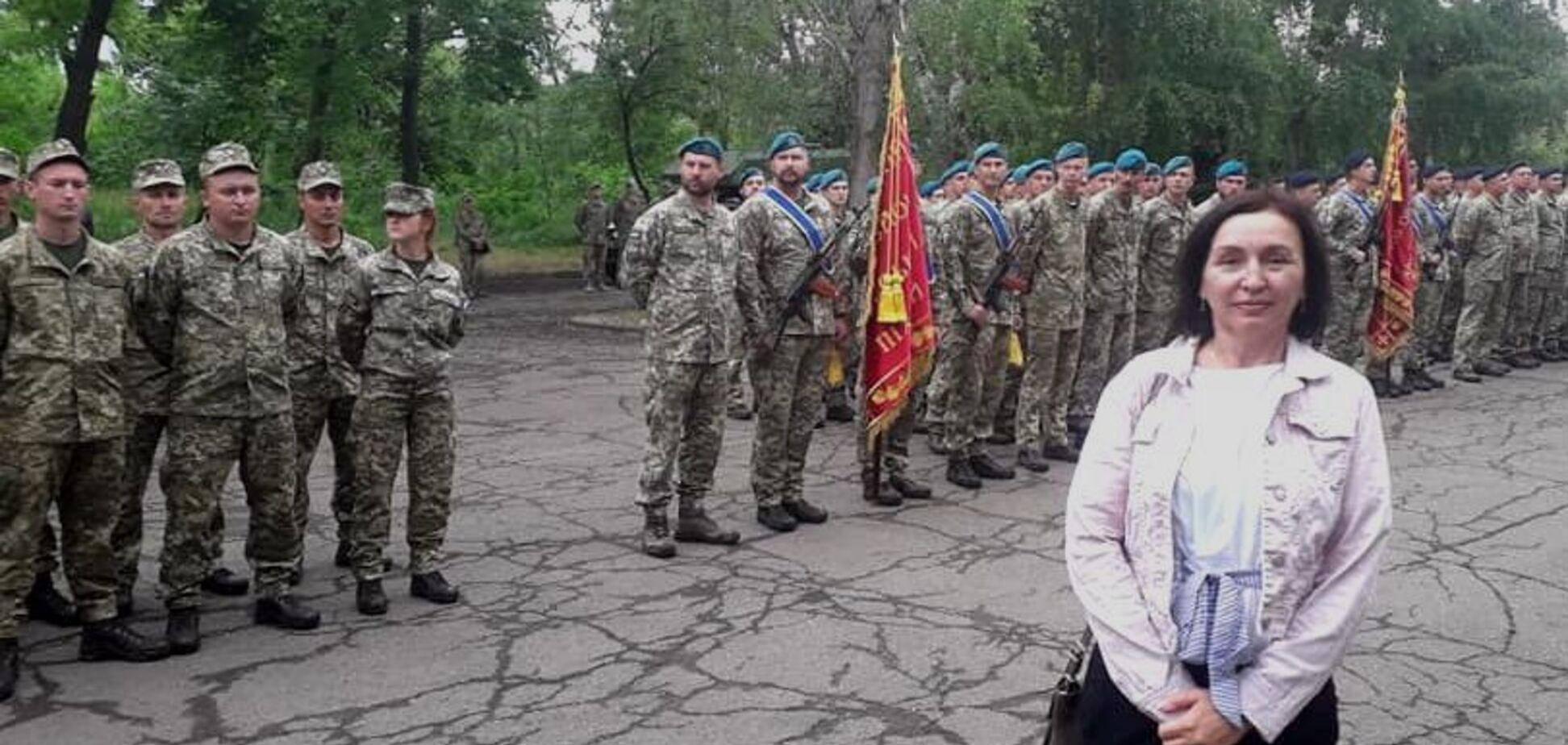Маша Українська військова волонтерка Маріуполь