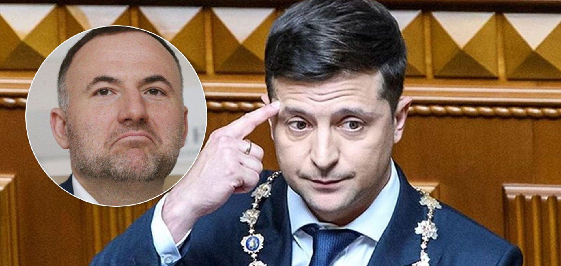 Володимир Зеленський Павло Фукс