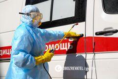 Крупнейшая вспышка в частной больнице: на Кировоградщине коронавирусом заразилось 153 медика