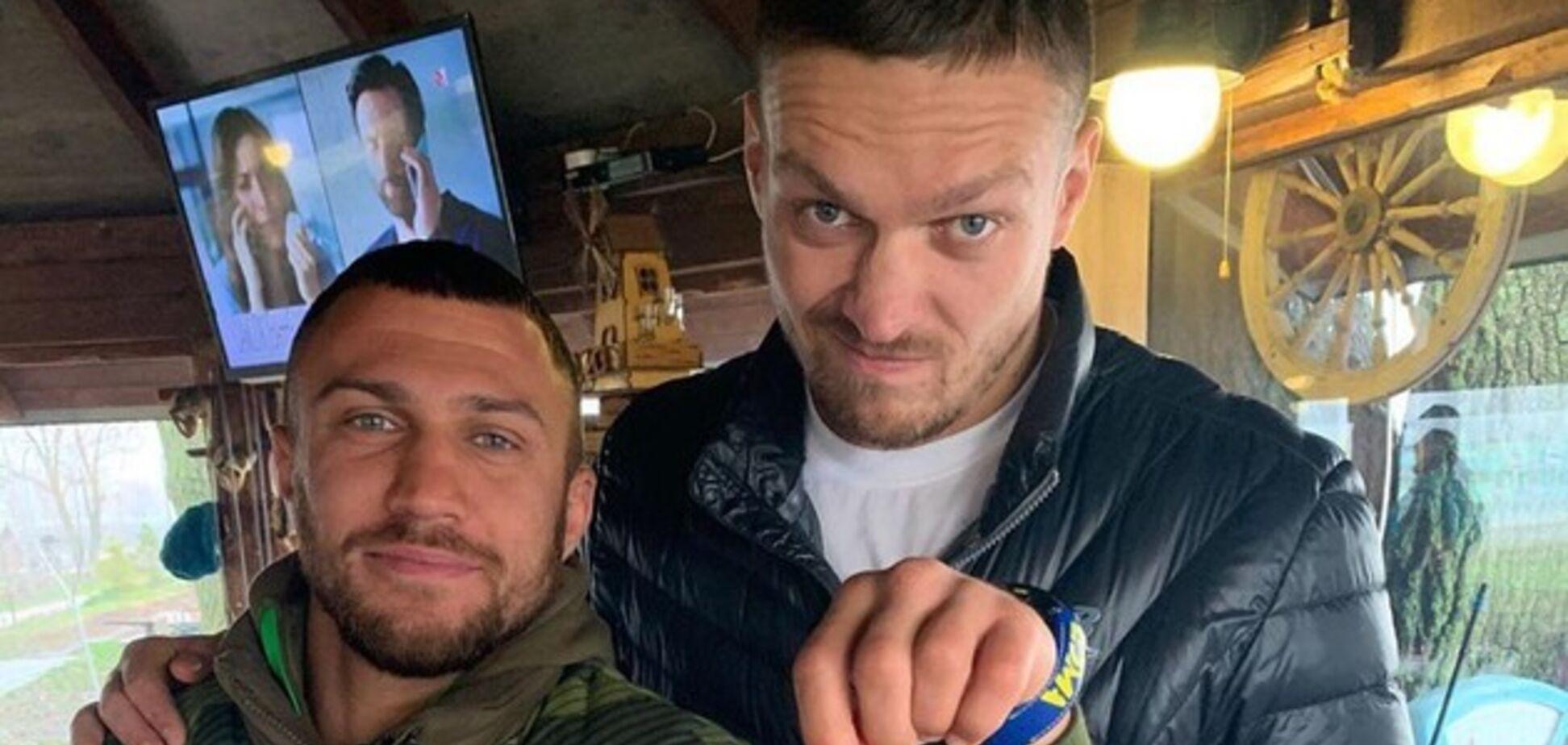 Усика и Ломаченко загнобили в сети за 'зашквар' с гражданством России