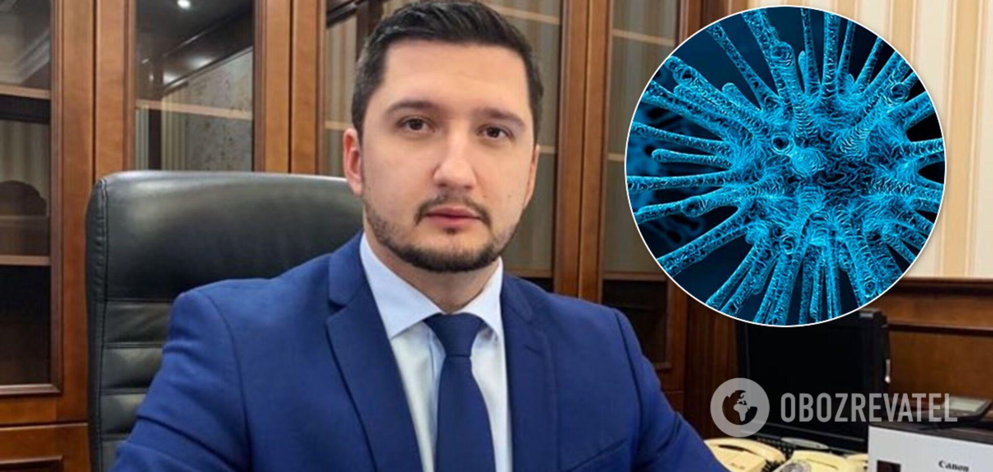 В очільника Держрезерву України запідозрили коронавірус