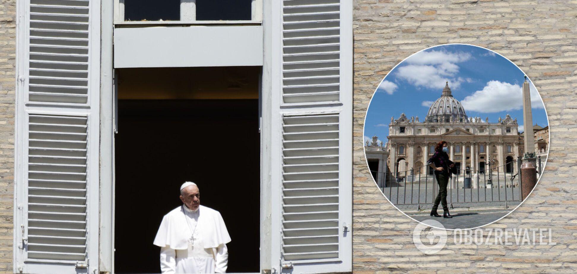 Помощник Папы Римского заразился коронавирусом