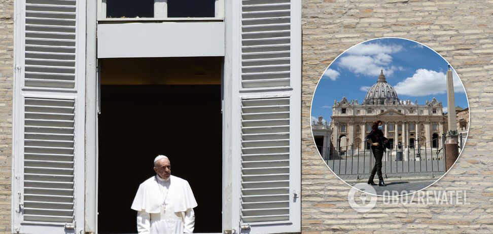 Помічник Папи Римського заразився коронавірусом