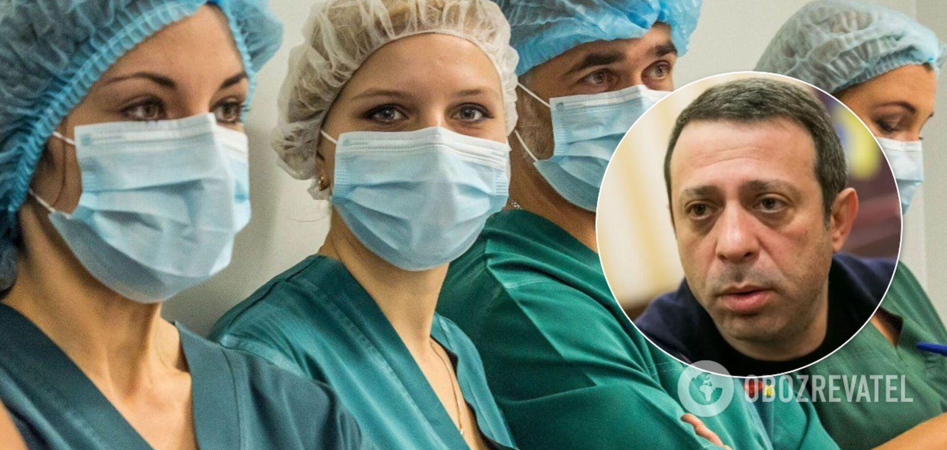 Медики Днепропетровщины недополучили 270 млн грн из госбюджета – Корбан