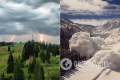 Карпати завалило снігом у травні: синоптики попередили про небезпеку. Фото