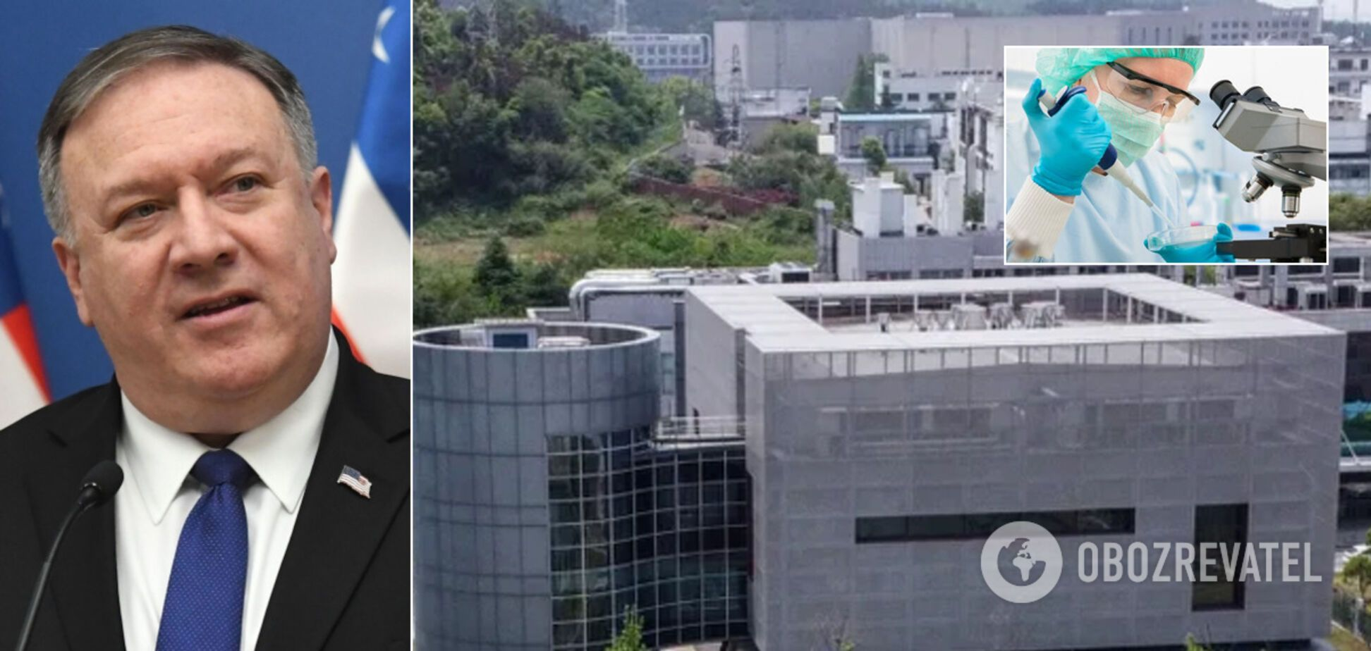 COVID-19 вийшов із лабораторії в Ухані? США раптово відмовилися від звинувачень у бік Китаю
