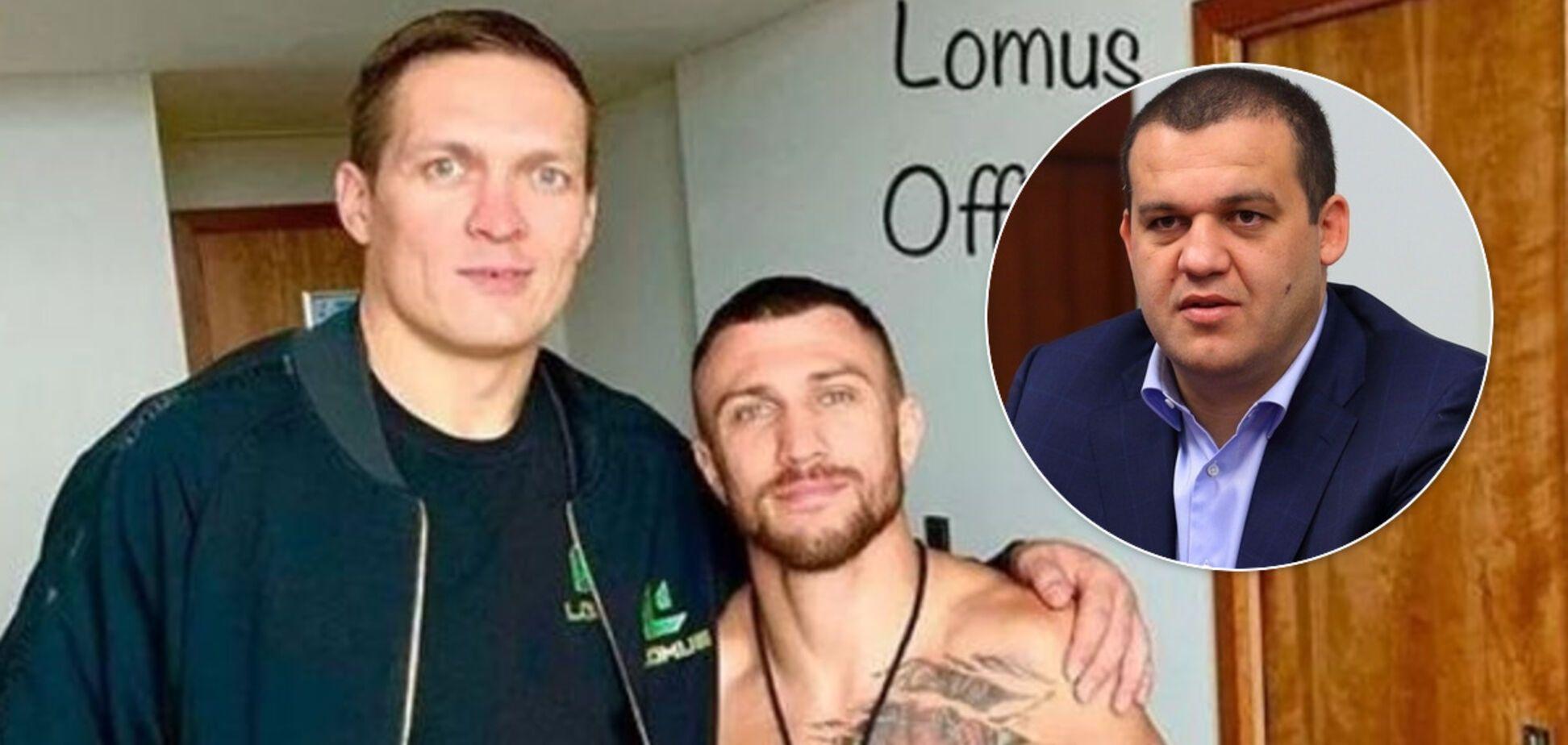 Усику и Ломаченко готовы предоставить гражданство России