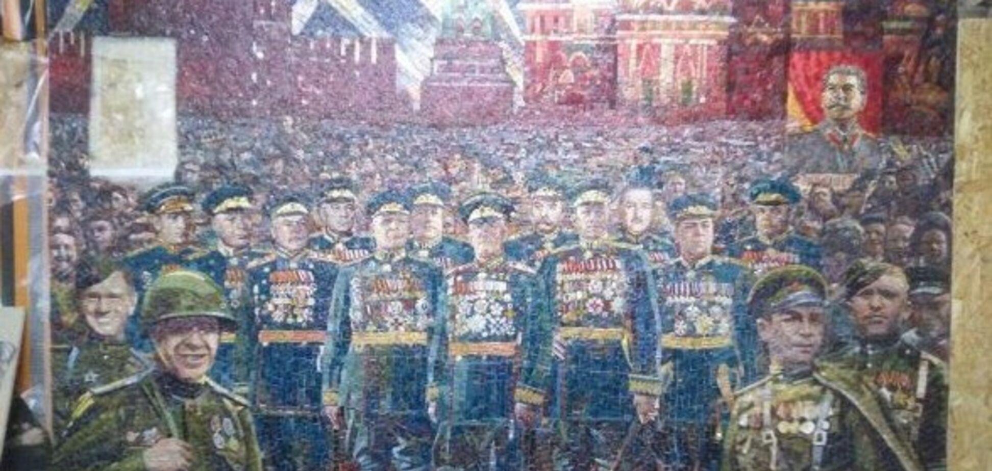 У РФ виправдали зображення в храмі Сталіна, який розстрілював священиків