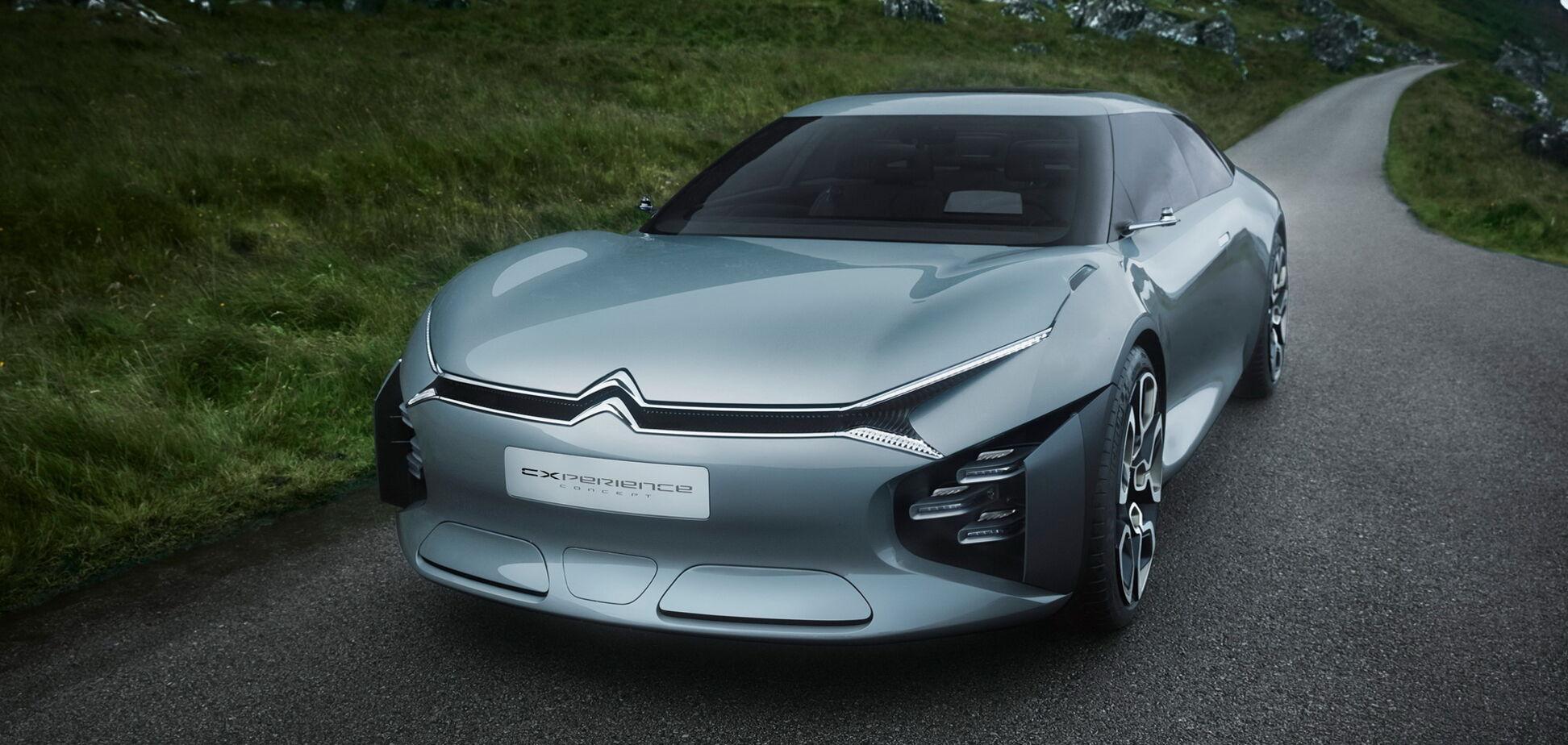 Citroen готовит наследника модели C5