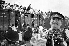 В Крыму повесили портрет Сталина: МИД Украины резко отреагировал