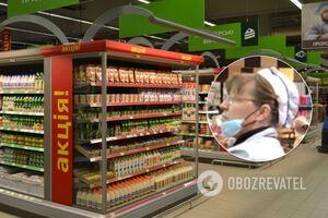 У Києві супермаркети 'забили' на карантин: персонал без масок і рукавичок