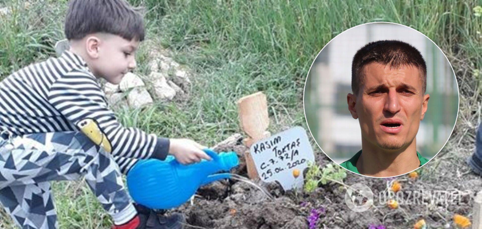 Футболист убил 5-летнего сына подушкой