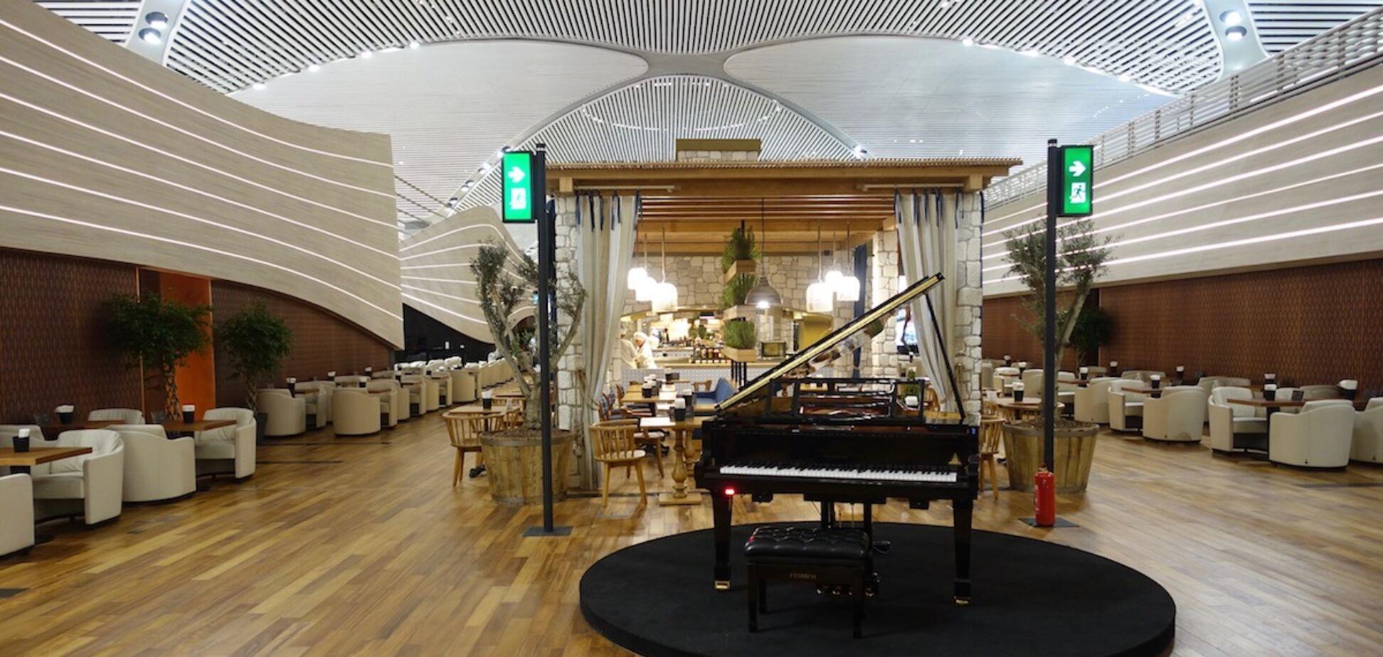VIP-зал в аеропорту Стамбула