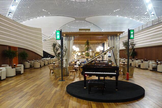 VIP-зал в аэропорту Стамбула