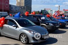 Партія Шарія влаштувала автопробіг у Києві, незважаючи на карантин: фото і відео