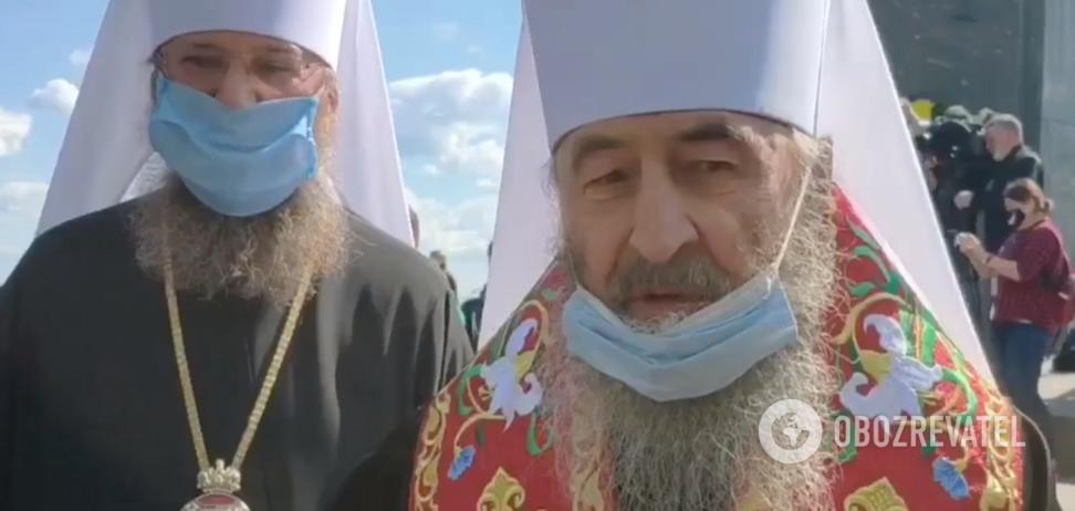 Онуфрий призвал 'проще относиться' к смертям украинцев от COVID-19