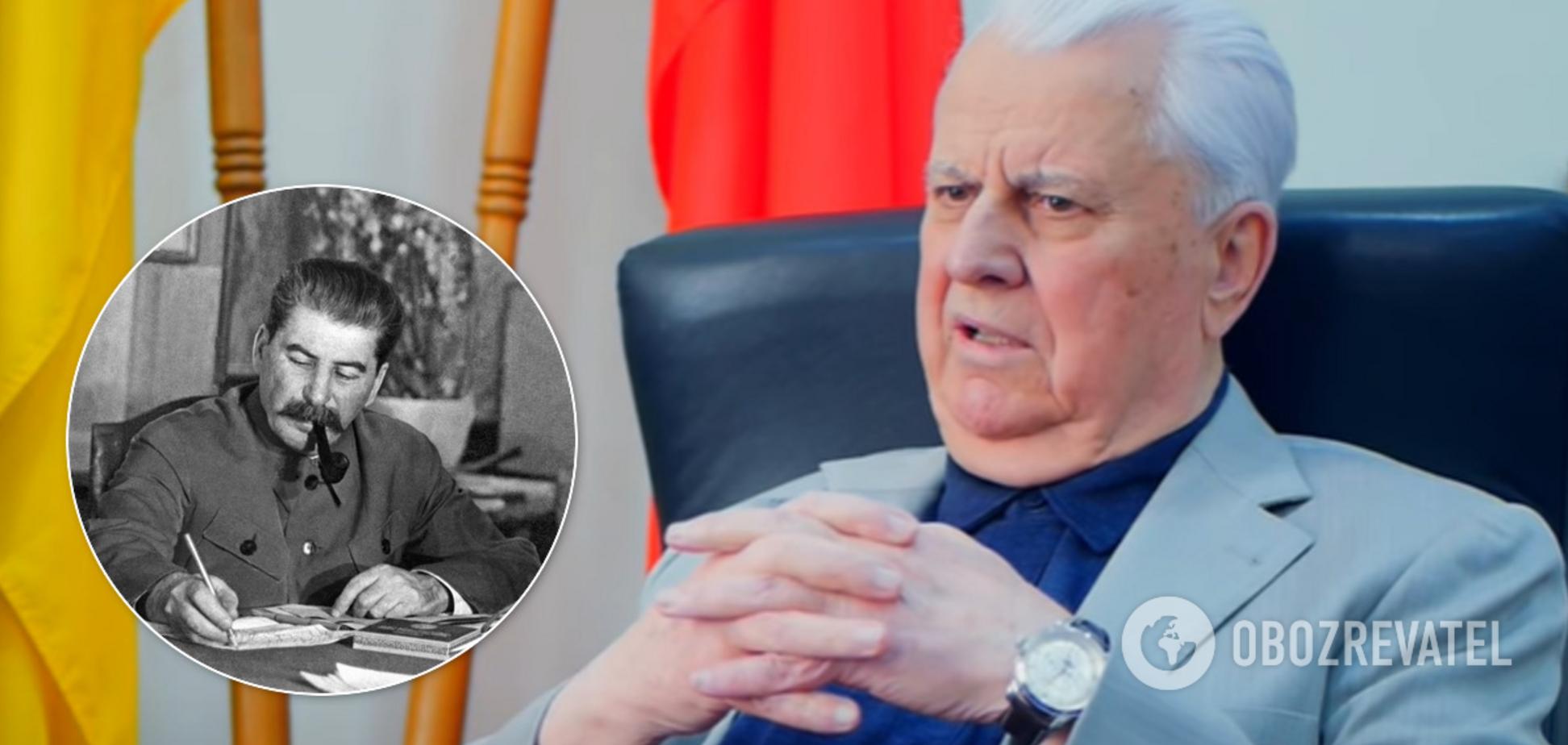 Поддержал Гитлера: Кравчук напомнил о вине Сталина во Второй мировой войне