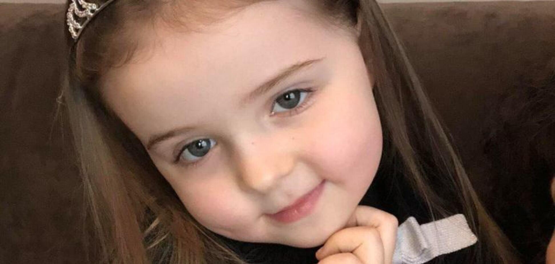 Украинцев просят спасти жизнь 4-летней девочке со страшным диагнозом