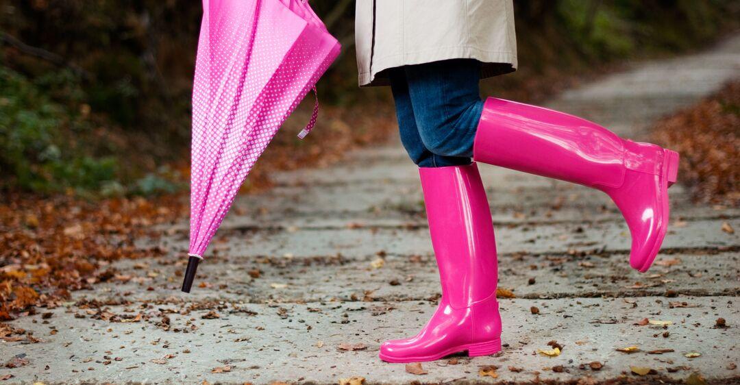 Как носить резиновые сапоги и выглядеть модно: лучшие идеи