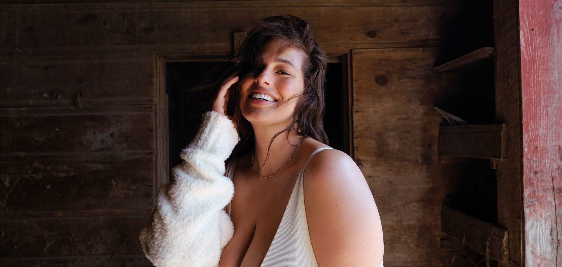 Известная plus size модель показала, как кормит ребенка грудью