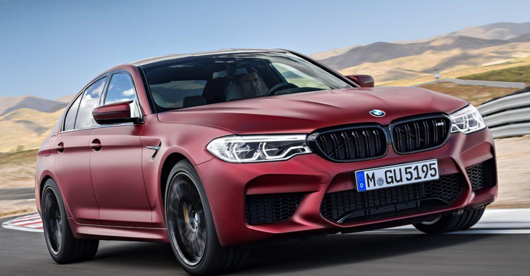 1020-сильный электромобиль BMW M5 бросит вызов Tesla Model S