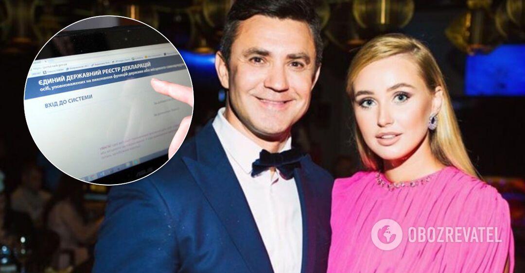 Сумки жены, 17 часов и рестораны: 'слуга' Тищенко обнародовал декларацию за 2019 год