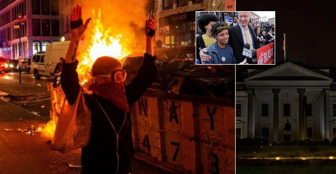 Задержана дочь мэра Нью-Йорка: в США обострились массовые протесты. Фото и видео